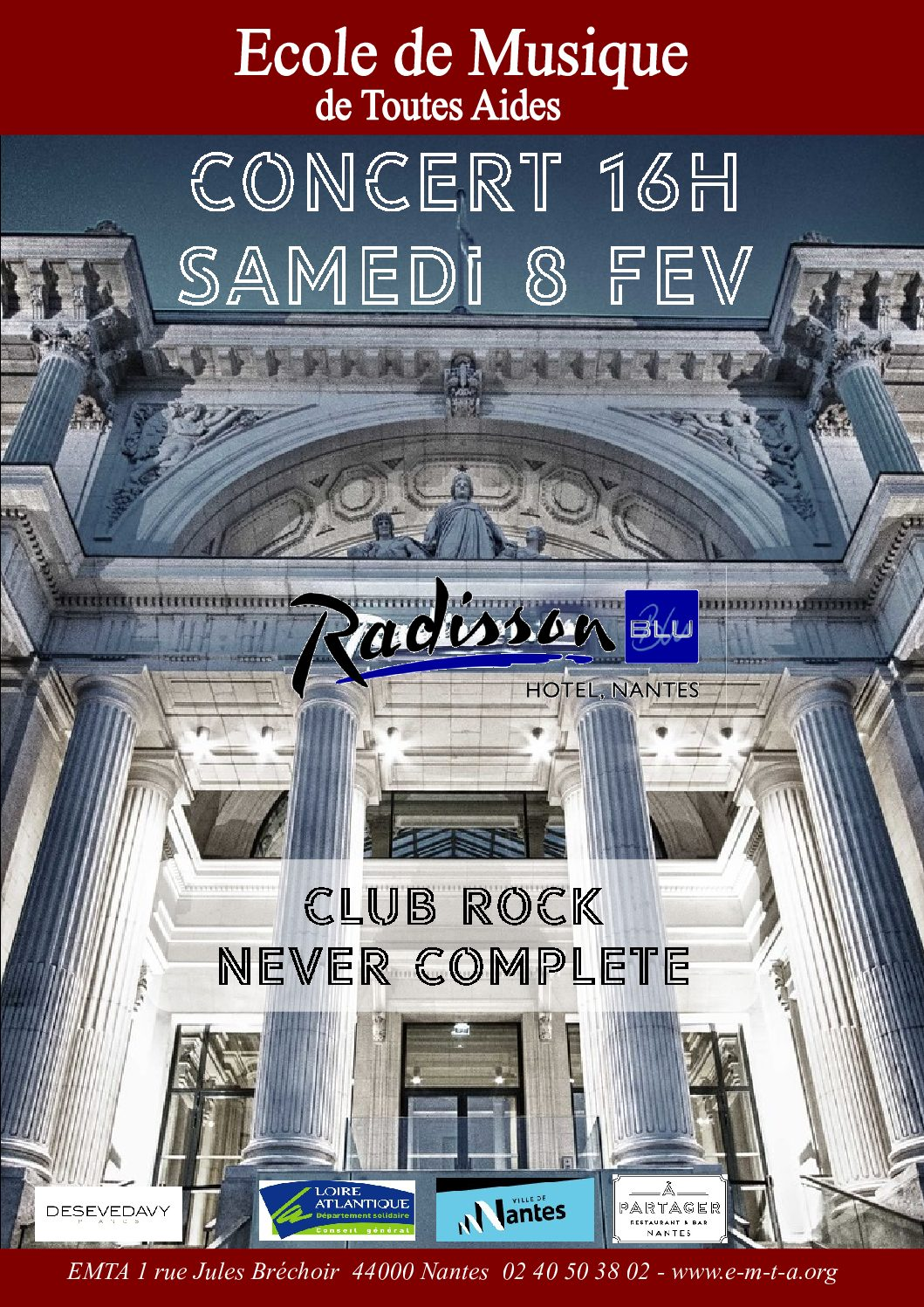 Concert Rock au Radisson